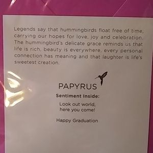 Papyrus Party Supplies - Beautiful Graduation Card ❣️